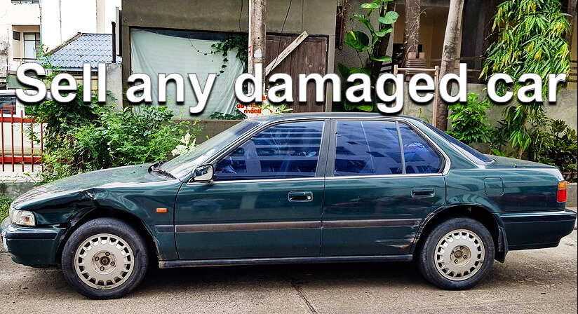 sell any damaged car